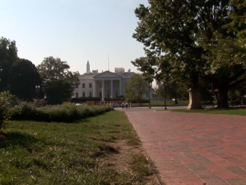 NTSC: White House - park video