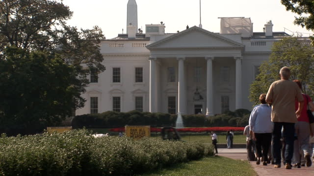White House - people video