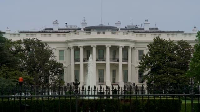 White House South Facade in Washington, DC - 4k/UHD video