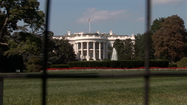 White House - south lawn video