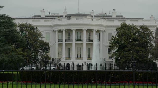White House South Lawn Washington, DC in 4k/UHD video