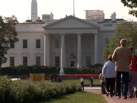 NTSC: White House - tourists video