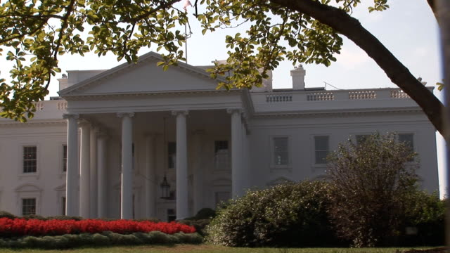 White House - wide right side video