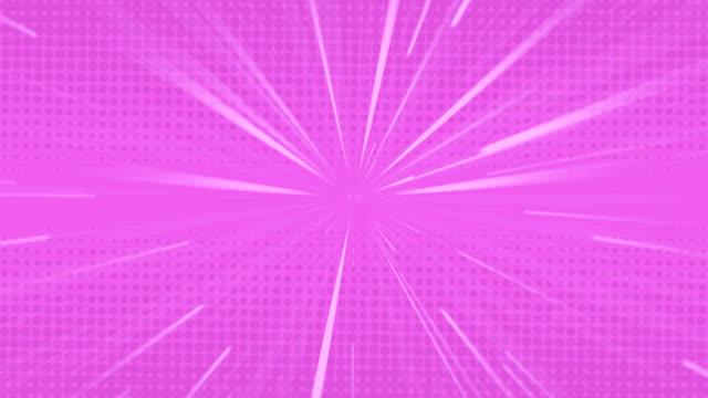 weiße lichtspuren bewegen sich vor lila hintergrund - begriffssymbol stock-videos und b-roll-filmmaterial