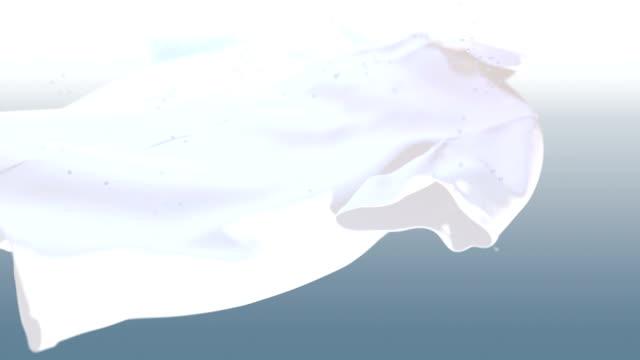 White shirt washing video