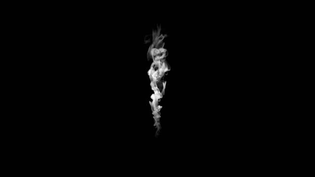 white smoke effect - traccia video stock e b–roll
