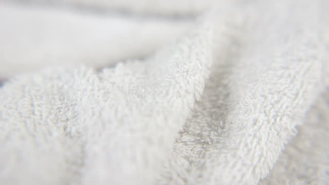White Towel Close Up video