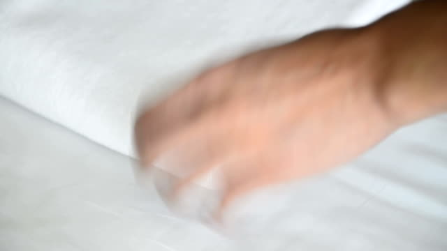 white towel video