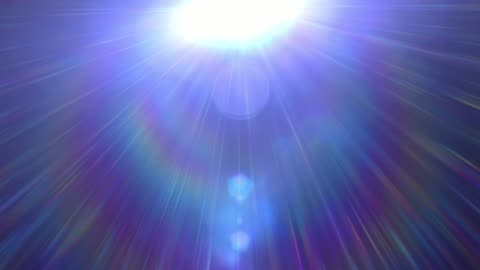 vídeos de stock e filmes b-roll de 4k white warm heaven lights with spectrum rays from above soft optical lens flares shiny animation art background animation. motion graphic natural lighting lamp rays shiny effect dynamic colorful. - espiritualidade