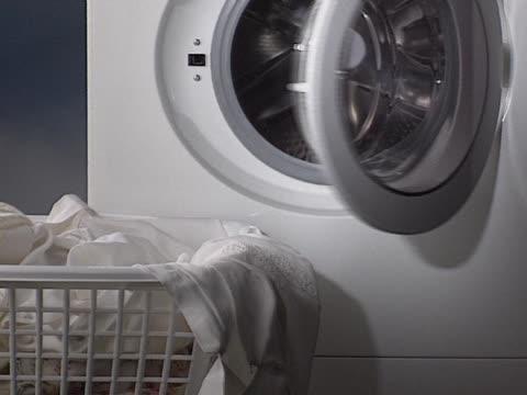 White washing machine video
