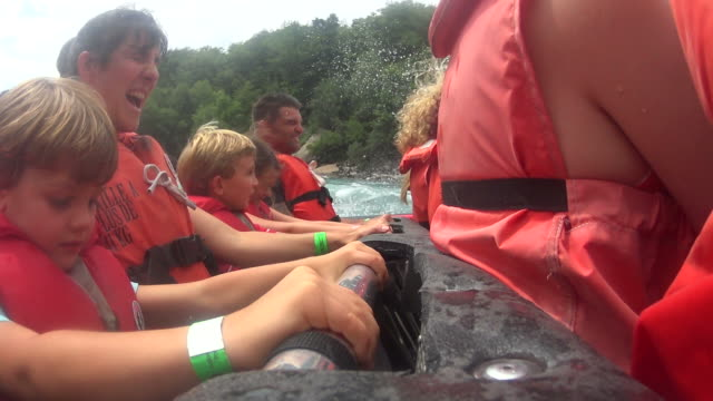 white water mit dem jet-boot - 2015 stock-videos und b-roll-filmmaterial