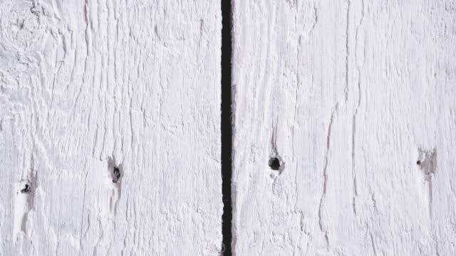 White Wooden Surface. Wood Texture Background