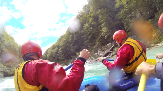 MS Whitewater Rafters In Action video