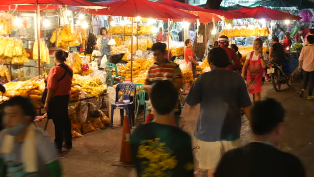 Wholesale Flower Market in Thailand video