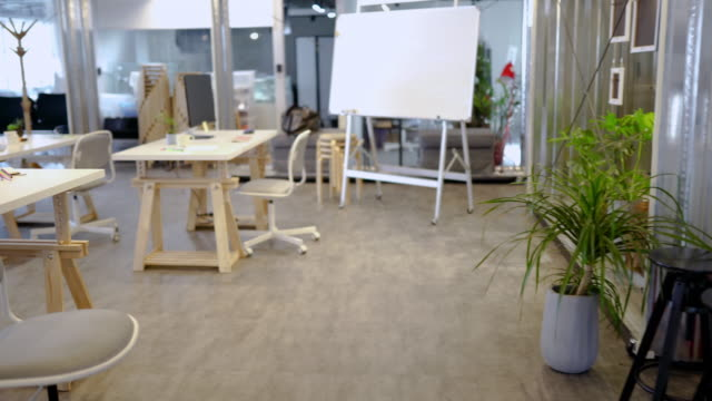 Wide Co-working Space - video