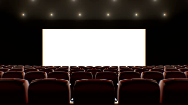 Wide Screen in Cinema Hall Moving Through Over the Seats. Beautiful 3d Animation with Lights, Green Screen and Tracking Points. Art and Technology Concept. Wide Screen in Cinema Hall Moving Through Over the Seats. Beautiful 3d Animation with Lights, Green Screen and Tracking Points. Art and Technology Concept. 4k Ultra HD 3840x2160. classical concert stock videos & royalty-free footage