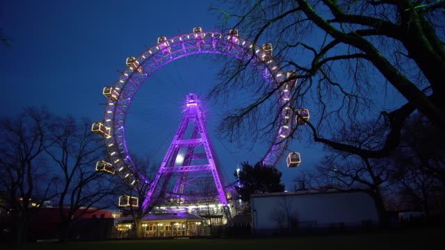 Wiener Riesenrad illuminated