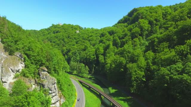 Wiesent River Valley In Franconian Switzerland In North Bavaria video