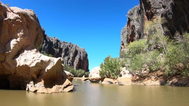 Wild landscape of a gorge in Kimberley Western Australia 02