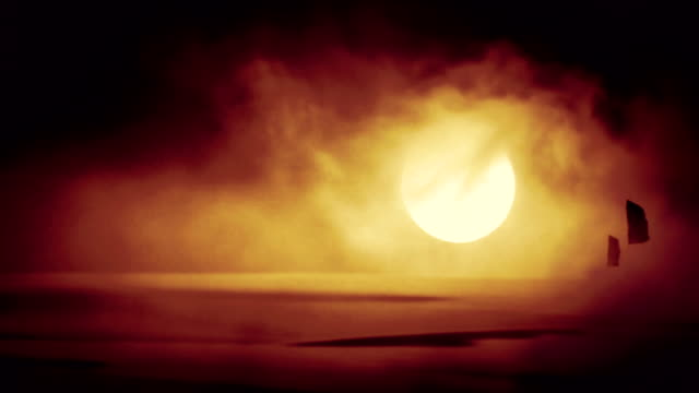 Wild Storm with Strong wind in a Desert Wild Storm with Strong wind in a Desert middle east stock videos & royalty-free footage