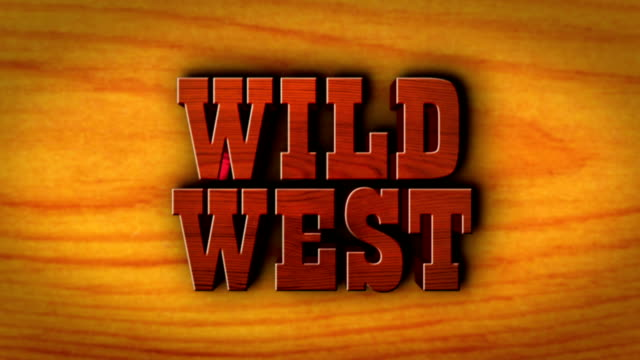 Wild West Wood Text on Table video