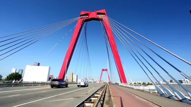 Willems Bridge in Rotterdam video
