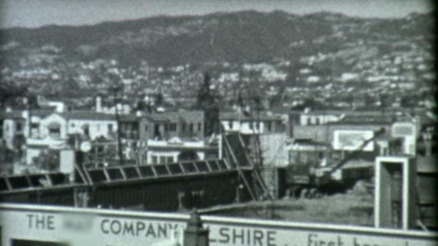 Wilshire Blvd Los Angeles 1939 video