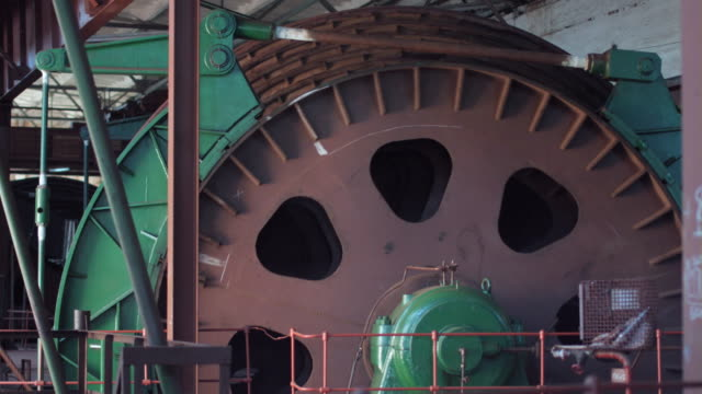 Winch drum rotating video