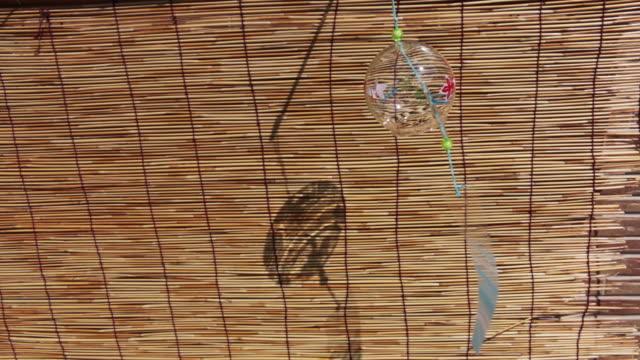 風鈴とすだれ - 短冊点の映像素材/bロール