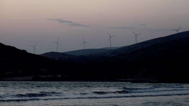 wind energy near the Aegean sea video