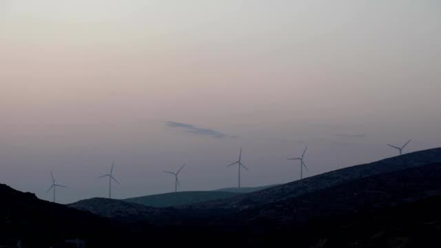 wind energy on the Greek island video