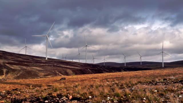 Windpark erzeugt saubere erneuerbare Energie – Video