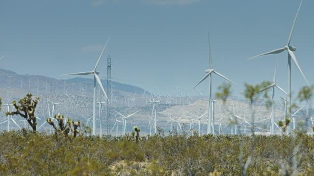 Wind Farm in Heat Haze video