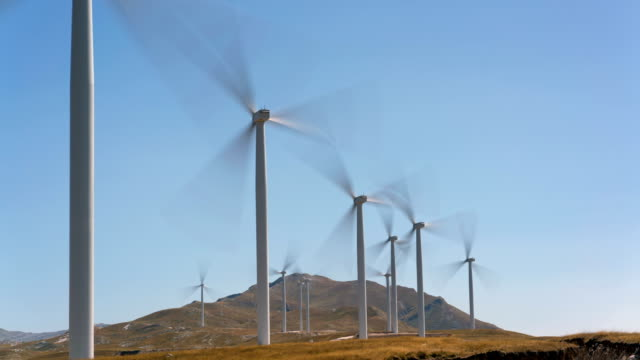 wind power generators in Montenegro video