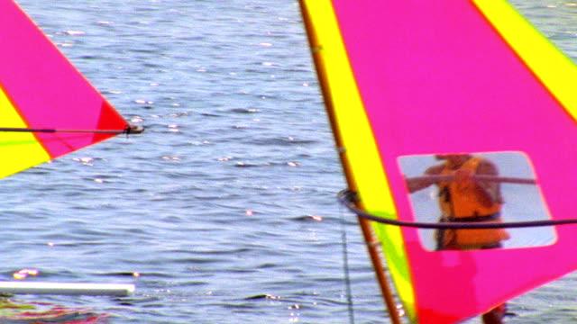 wind surfing video