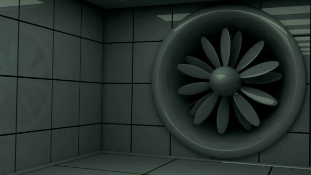 Wind (aerodynamical) tunnel, HD, Loop/Cycle video