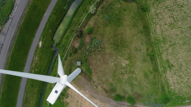 Wind turbine from above video