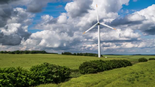 AERIAL: Wind Turbine / Industrial Windmill video