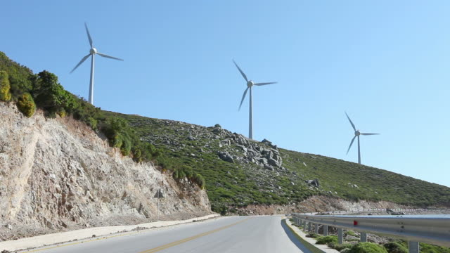 HD: Wind turbines video
