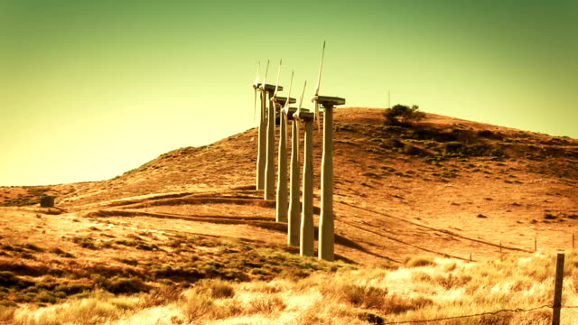 Wind Turbines (Renewable Energy) video