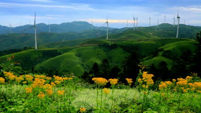 vídeos y material grabado en eventos de stock de turbinas eólicas - generadores
