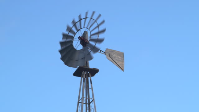 Windmill and Blue Sky video