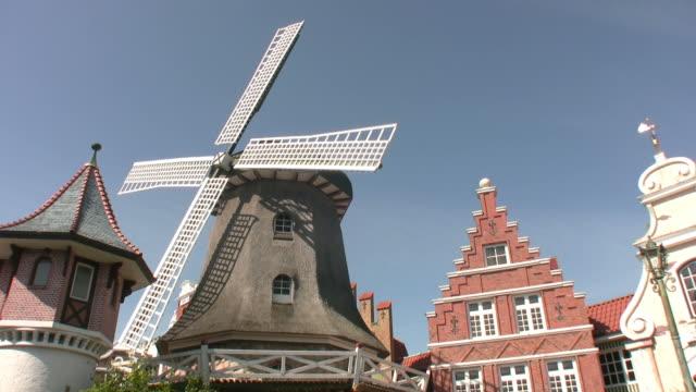 Windmill at historic Scene 'seamless loop' HD video