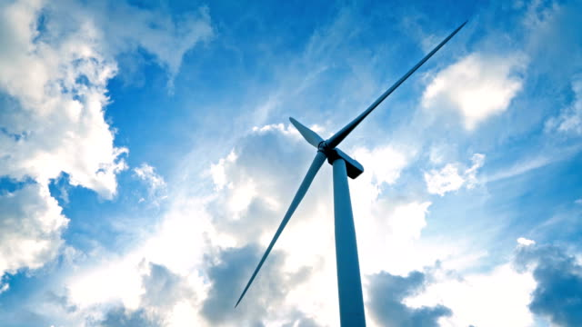 Windmills for electric power production Windmills for electric power production. Northern Norway mill stock videos & royalty-free footage