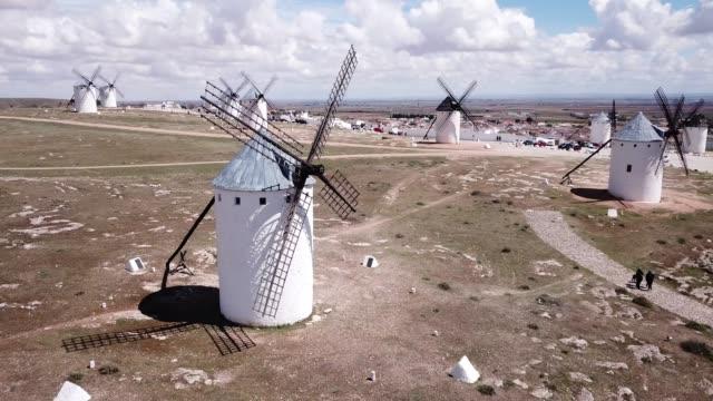 windmills in Spanish municipality of Campo de Criptana