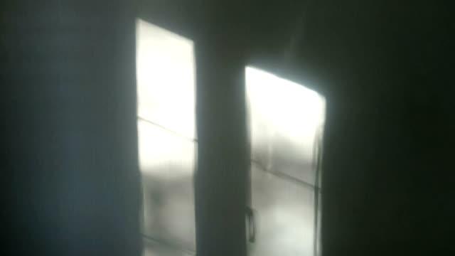 Window shadow on the wall video