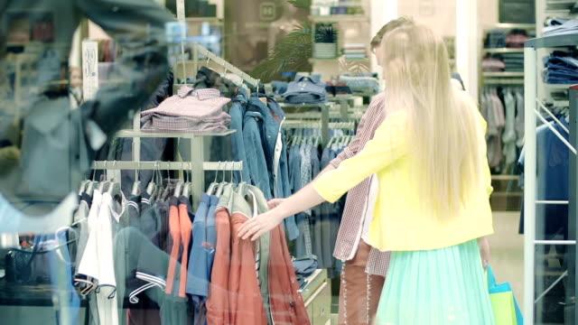vídeos de stock, filmes e b-roll de janela de compras - arméria