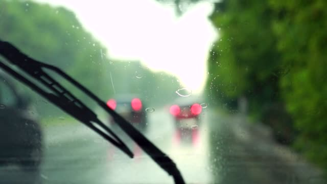 windshield wipers work in the rain video