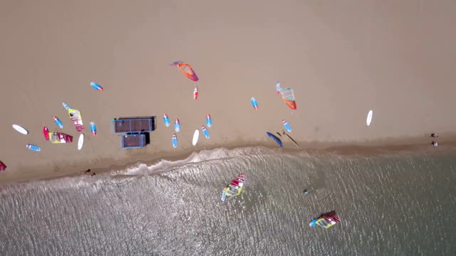 Windsurfing Camp From Above video