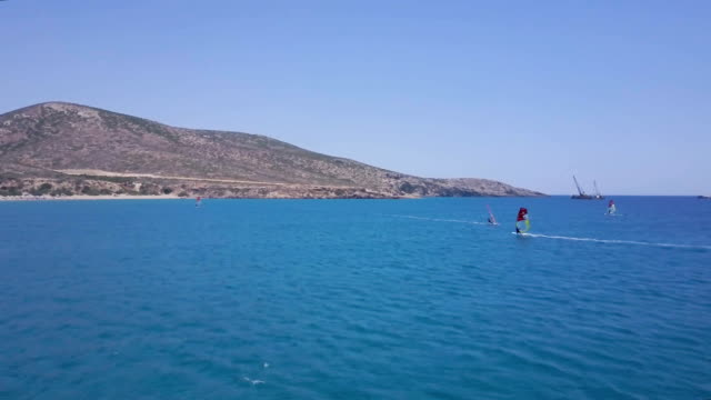 Windsurfing Mediterranean video